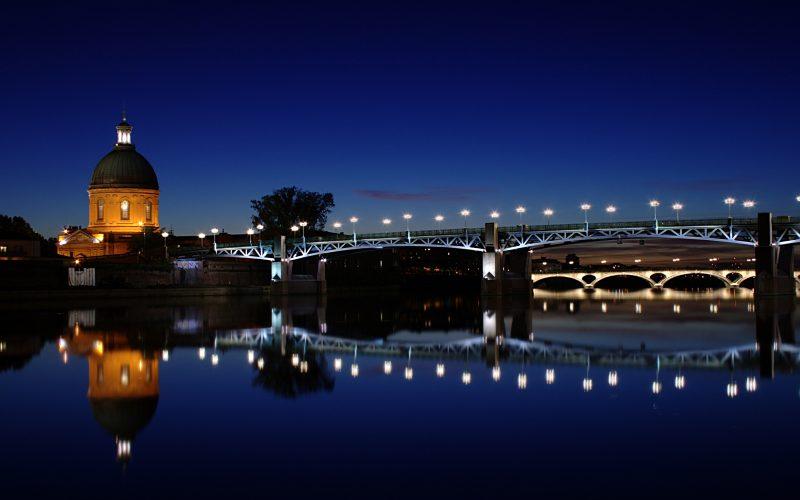 Le fleuve  Garonne, Toulouse