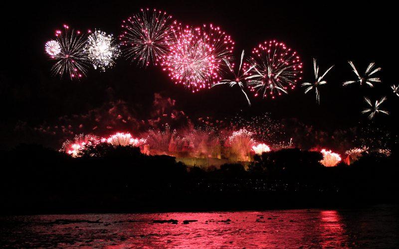 La fête nationale du 14 Juillet 2012, Carcassonne